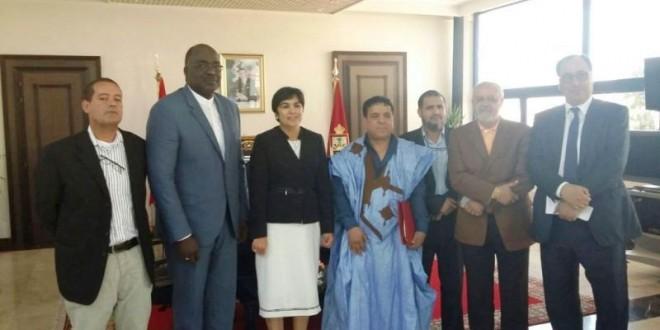 Visite-du-President-de-la-CAHB-à-Agadir