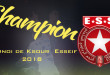 Tournoi de Ksour  Esseif 2018 : l'Etoile remporte la coupe