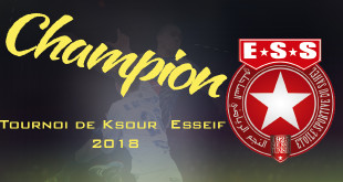 ESS champion ksouressef tournoi