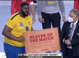 Egypte 2021 : Gauthier Mvumbi , le Shaq of handball