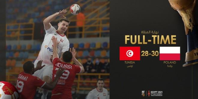 Egypte 2021 : La Tunisie battue par la Pologne