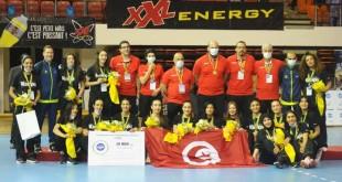 médaille bronze tunisie dames CAN 2021