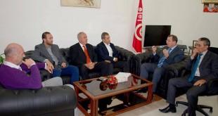 Ministre et staff équipe nationale tunisienne