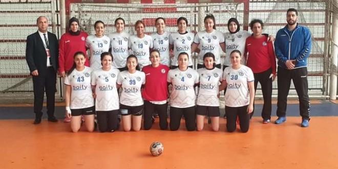 Coupe de Tunisie dames quart de finale 2021 : Ezzahra sport sur un petit nuage